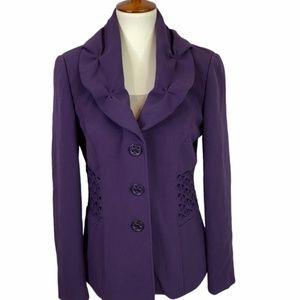 Atelier Boutique Purple Career Blazer